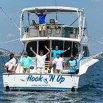 happy crew on boat