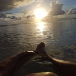 Ten Bay Beach sunset