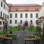 Brukenthal Museum - inside yard