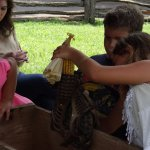 During Vann House Days in July, you'll participate in activities from the 1800s with volunteers.