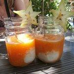 Miaaaaam!!! le gaspacho de melon bien frais en dessert