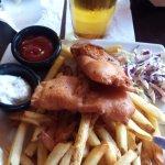 Fish & Chips w/ slaw