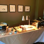 Sunday Buffet table (lunch)