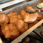 Part of Sunday Brunch (breakfast table)