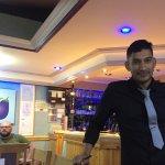 Helpful waiter