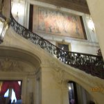part of the grand staircase in the Breakers