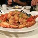 lobster crispy noodles