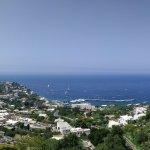 Panorama: Marina Grande and Mt Solaro