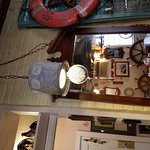 Funky, eclectic, collection in dinning room