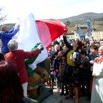 L'inaugurazione del monumento il 29 marzo 2015
