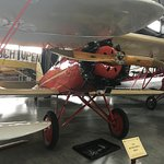 Antique airplane