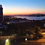 The morning view of the Bosporus