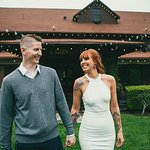 Glen Tavern Inn is a gorgeous place for a photoshoot. We had our engagement photoshoot taken the