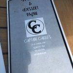 Foto de Captain Carlo's Restaurant