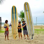 Surf Lessons with Daniel from Monkey Tours