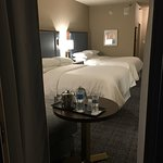 Room 3091 - nicely renovated inside (2017) but loud AC generator noise on balcony and inside