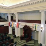 View from the Gallery of The Legislative Chamber
