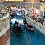 Gondola inside the Venetian Macao Resort Hotel