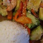shrimp and avacado