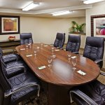 The Boardroom is perfect for small group business meetings