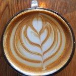 Atomic Coffee Latte.