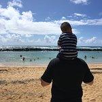 Contemplating the beach