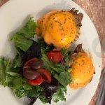 Brisket Eggs Benedict
