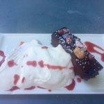 Gluten free chocolate ganache cake