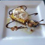 Chocolate Key-Lime Pie.