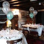 We can cater for small functions in our restaurant.