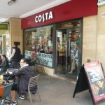 Costa with outside seating
