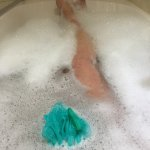 A relaxing spa bath if you are cold and tired