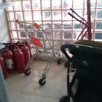 removed fire extinguishers... not replaced whilst I stayed.