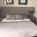 HUGE bed!