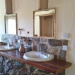 Family room wash area