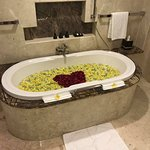 In-room Flower Bath