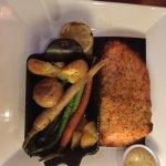 Cedar Plank-roasted Salmon