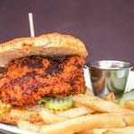 Brunch Nashville Chicken Sandwich