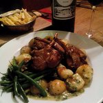 Rack of Lamb with an excellent complement of Chateau Siaurac 2009