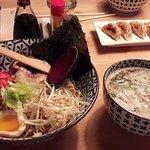 Tsukamen ramen et gyoza au canard