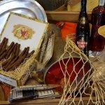 Rum & cigars corner dopo il Gran buffet di Ferragosto