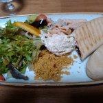Panini + salad choices