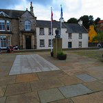 in the centre of Culross