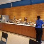 Free breakfast area in lobby