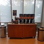 Free coffee area