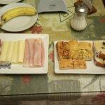Desayuno fuera de hora. Excelente
