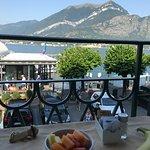 Beautiful breakfast view!
