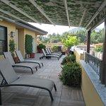 Beautiful rooftop terrace!