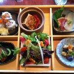 One of the several o-bento enjoyed at Miyake