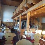 Main dining room at breakfast